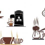 Link toVector coffee icons design elements 03