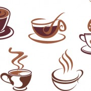 Link toVector coffee icons design elements 04