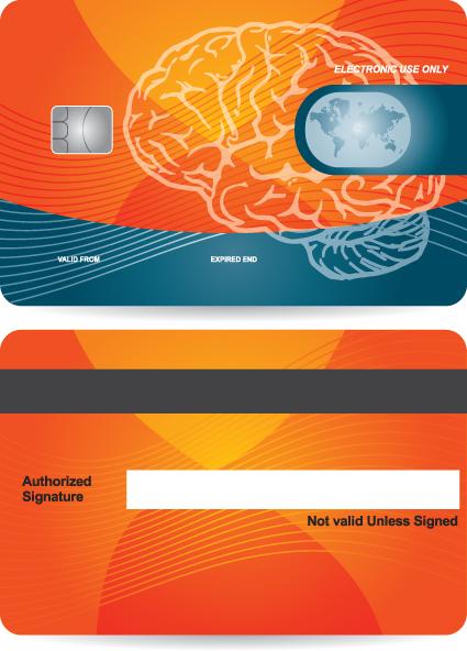 creative credit card design vector 01