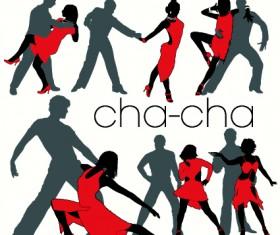 Elements of Dancing vector graphics 02