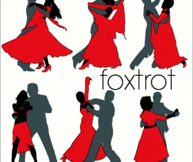 Elements of Dancing vector graphics 04
