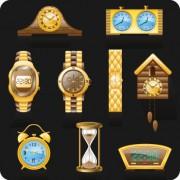 Link toDifferent clocks design vector
