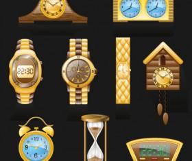 Different Clocks design vector