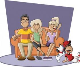 Family Member design elements vector 04