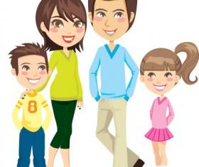Family Member design elements vector 05