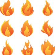 Link toDifferent flames icons design vector 05