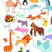 Link toLovely animals 01 design elements