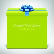 Link toStylish gift boxes with ribbon design vecotr 05