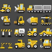 Link toSet of icons transportation vector 01