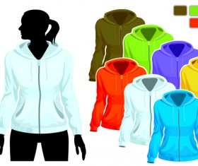 Mens and womens clothing design elements 02