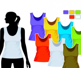 Mens and womens clothing design elements 05