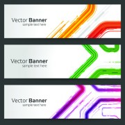 Link toCreative website headers banner vector set 02