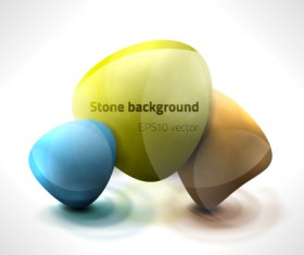 Vector Nature objects backgrounds 01