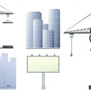 Link toVector outdoor advertising design elements set 01