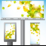 Link toVector outdoor advertising design elements set 02
