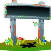 Link toVector outdoor advertising design elements set 03
