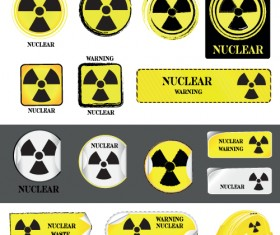 Different Prevention symbols vector set 05