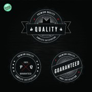 Link toQuality and guaranteed black label design elements 02
