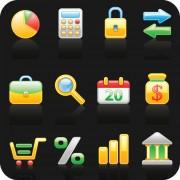 Link toShiny society icons vector