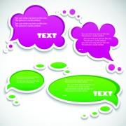 Link toVector creative speech bubbles elements set 03