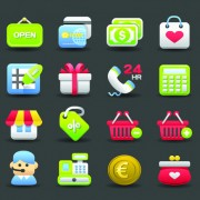 Link toVarious society vector icons set 02