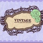 Link toVintage frame vector background art 02