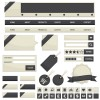 Creative Web design elements vector 01