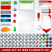 Link toCreative web design elements vector 03