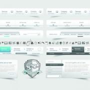 Link toVector web elements menu art graphic 03