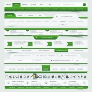 Link toVector web elements menu art graphic 05