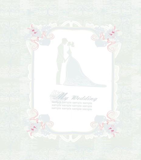 wedding photo design background