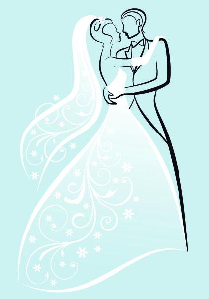 Stylish Wedding card design elements 03 Vector Card free download – Wedding Card Design Template Free Download