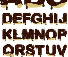 Diverse alphabet elements vector art 03