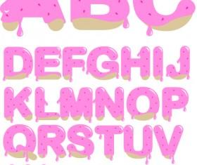 Diverse alphabet elements vector art 04