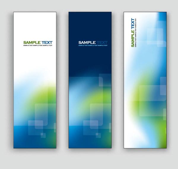 Exquisite Vertical Banner Design Vector 02 Free Download