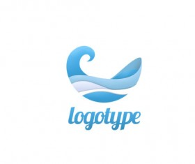 logotype Layered PSD