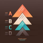Link toNumbered infographics elements vector 20
