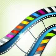 Link toVector background with film elements 02