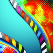 Link toVector background with film elements 04