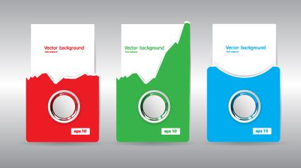 Modern business cards template 04 vector card free download modern business cards template 04 wajeb Gallery