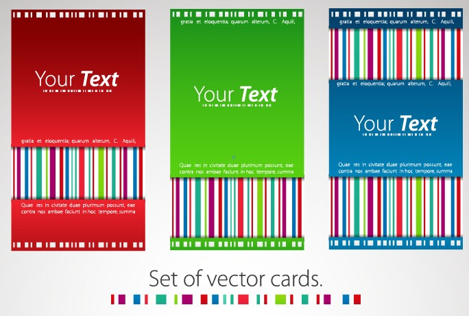 Modern business cards template 07 vector card free download modern business cards template 07 fbccfo Images