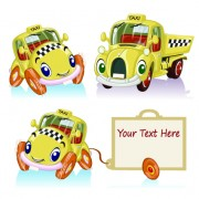 Link toTag car cartoon vector set 03