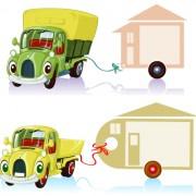 Link toTag car cartoon vector set 04