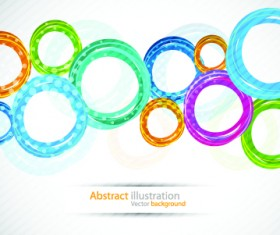 Colorful circles backgrounds art 03