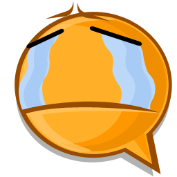 Cry expression icon