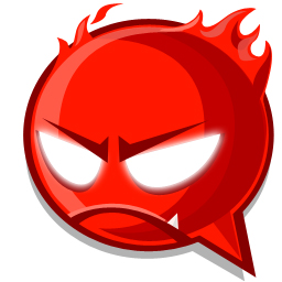 Fire expression icon