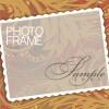 Stylish photo frame design vector 03