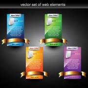 Link toWebpage design decorative element set 2