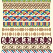 Link toAntique decorative pattern border vector 02