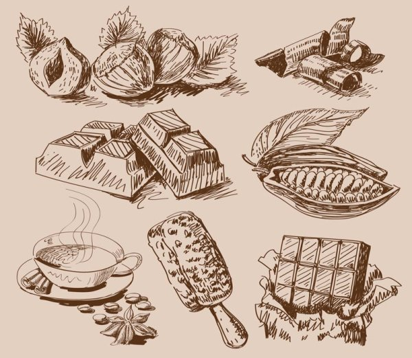 Commonly used hand food
